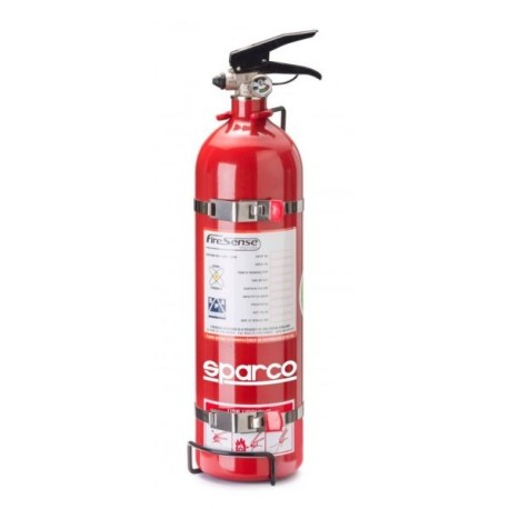 Sparco aluminium hand held extinguishers