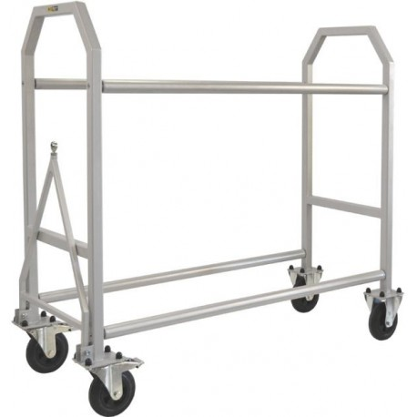 Powder Coated Wheel & Tyre Trolley 1500mm