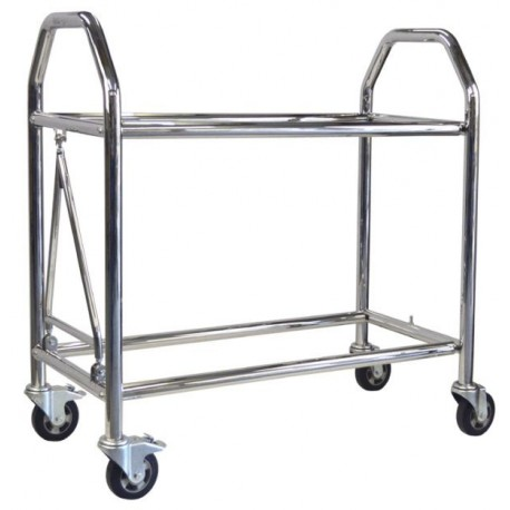 Stainless Steel Low Level Wheel & Tyre Trolley 1500mm