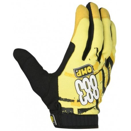 Omp 883 gloves yellow/L