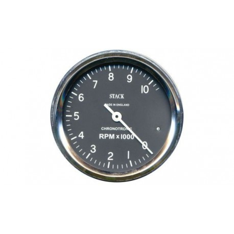 Stack Chronotronic tachometer 80 mm - black