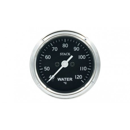 Stack Professional Water Temperature Gauge (40-120°C) - black -