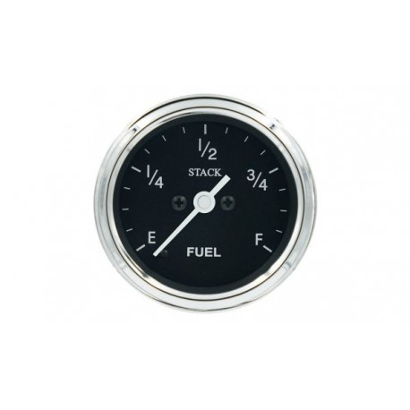 Stack Professional Fuel Level Gauge - black - CLASSIC