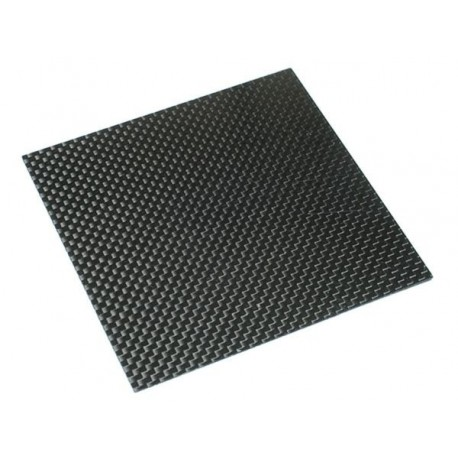 Carbon Fibre Sheet 2mm 100X100