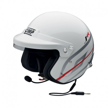 Casco Omp J-R Hans Intercom